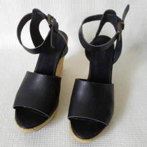 Old Navy Shoes - OLD NAVY Women's Faux - Leather Wedges